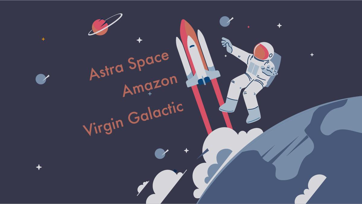 リチャード・ブランソン宇宙へ 次の投資機会は何か?